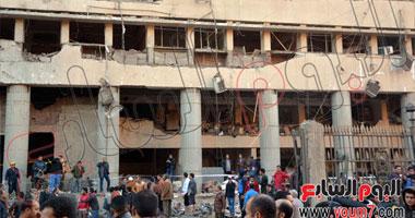 الداخلية: أكثر من نصف طن متفجرات استخدم فى حادث مديرية أمن القاهرة 1120142482248