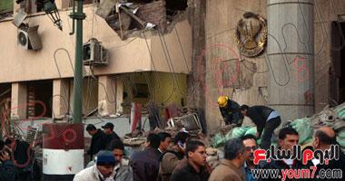 الداخلية: أكثر من نصف طن متفجرات استخدم فى حادث مديرية أمن القاهرة 1120142483545