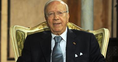 الرئيس التونسى يعزى بوتفليقة فى ضحايا تحطم الطائرة العسكرية