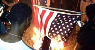 اعتقال متظاهرين فى نيويورك لرفض محكمة إدانة شرطى قتل رجل أسود