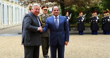 رئيس مجلس الشيوخ الفرنسى يشيد بخطوات مصر الإصلاحية