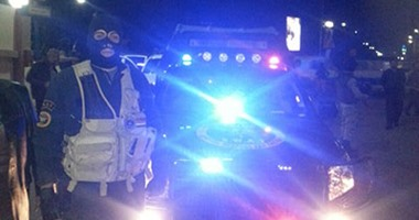 """مجهولون يطلقون النار على نقطة شرطة """"طبهار"""" بالفيوم دون إصابات"""