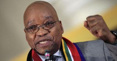 """مظاهرات ضخمة فى جنوب افريقيا ضد الرئيس """"زوما"""""""