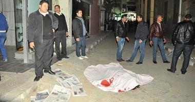 انتحار مفتش تموين بعد قتل طليقته رميا بالرصاص فى سوق البازار ببورسعيد