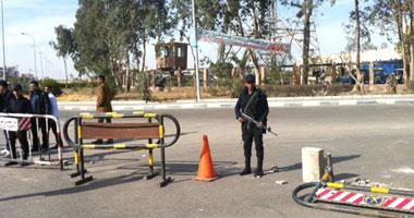 """""""اليوم السابع"""" ينشر صور كمين أكتوبر بعد تعرضه للاقتحام"""