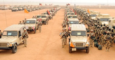 قوات الجيش بسيناء – صورة أرشيفية