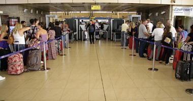 مطار شرم الشيخ يستقبل 3 رحلات من السعودية والكويت لنقل 200 سائح عربى