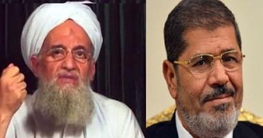 """فيديو جديد لداعش: الظواهرى""""المعتوه""""مدح مرسى عدو الله الذى لم يحكم بالشرع"""