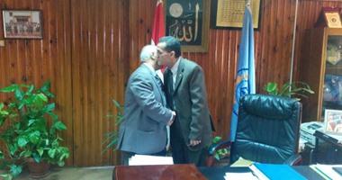 عبد الحى عزب ينتدب محمود إبراهيم أمينا عاما لجامعة الأزهر