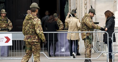 اشتباكات بين الشرطة الإيطالية ومتظاهرين بسبب اجتماع لليمين المتطرف