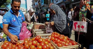 أسعار  الخضروات اليوم بسوق العبور ..  الخيار بـ 3 جنيهات والبطاطس بـ 2 جنيه