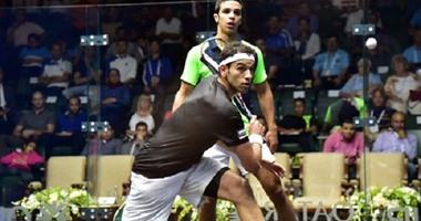 الشوربجى عاشر المصريين المتأهلين لربع نهائى بطولة الأهرام للإسكواش