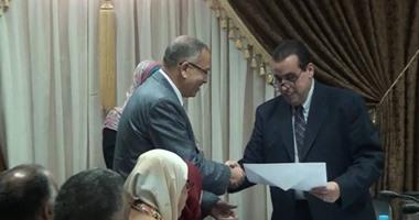 جامعة قناة السويس تبحث التعاون مع المجلس العربى الإفريقى للتكامل والتنمية