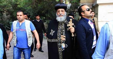 البابا تواضروس يحاضر فى الكلية الإكليريكية بالإسكندرية
