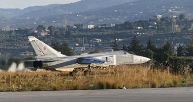 الطائرة الروسية فى تركيا
