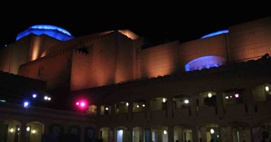 افتتاح معرض للعراقى مطبع الجميلى فى دار الأوبرا المصرية