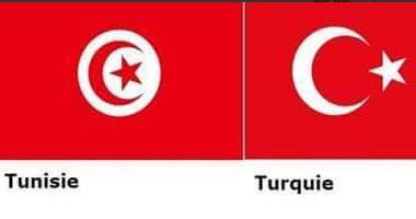 بسبب تشابه العلمين التونسى والتركى.. رواد  تويتر  لبوتين:  ركز وأنت بتضرب