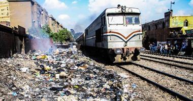 السكة الحديد: توك توك يقتحم مزلقان بالزقازيق خلال غلقه ويتسبب فى إصابة شخصين