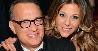 """""""توم هانكس"""": أنحنى احترامًا لشجاعة زوجتى فى مواجهة السرطان"""