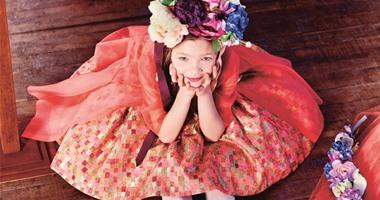 من Dior ملابس بنات باللون الوردى والفوشيا