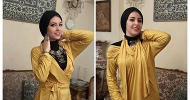 بالصور.. مجموعة ملابس محجبات جديدة.. ألوان زاهية ومشرقة