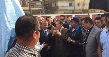 رئيس جامعة الأزهر يفتتح المخيم الكشفى الدائم لطلاب جامعة الأزهر بأسيوط