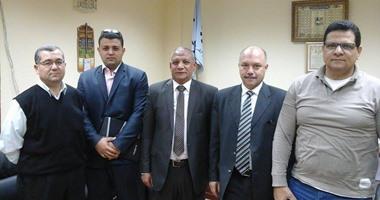 بالصور.. نائب رئيس محكمة النقض يلتقى بالقيادات الشبابية بالغربية