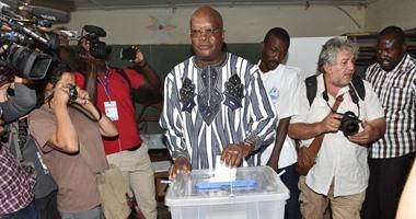 كابورى يتقدم منافسيه فى انتخابات الرئاسة فى بوركينا بحسب نتائج جزئية