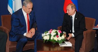 نتنياهو يلتقى بوتين ويؤكدان: نتعاون عسكريا فى سوريا لعدم تكرار حادثة الطائرة
