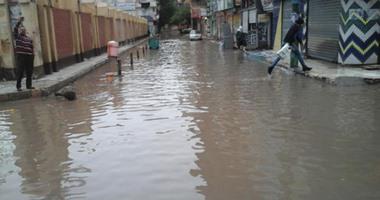 تساقط أمطار غزيرة فى كفر الشيخ.. وتوقف حركة الصيد