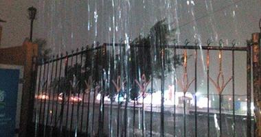 بالصور.. شلل كامل بشوارع الإسكندرية بعد تعرضها لموجة أمطار غزيرة