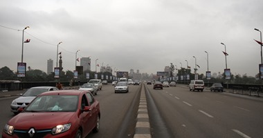 سيولة مرورية أعلى كوبرى أكتوبر فى الاتجاهين مدينة نصر – المهندسين ..فيديو