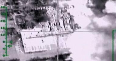 فيديو يظهر تدمير المقاتلات الروسية 500 صهريج نفط تابعة لداعش بسوريا