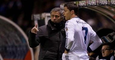 مورينيو يثير غضب كريستيانو رونالدو .. تعرف على السبب
