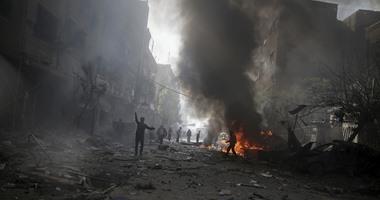 التليفزيون السورى: تنظيم داعش دمر جزءًا من المسرح الرومانى فى مدينة تدمر