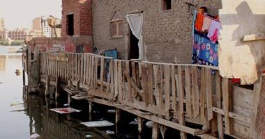 """بالصور.. """"آل طبطاب"""" بـ""""عين الصيرة"""" منطقة غمرتها المياه ودمرها الإهمال"""