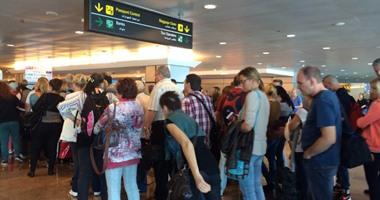 الطيران: وصول 12 ألف سائح إنجليزى وأوكرانى وألمانى للغردقة وشرم الشيخ