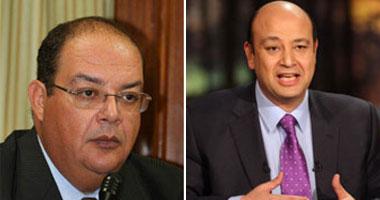الإعلاميان عمرو أديب ومصطفى شردى