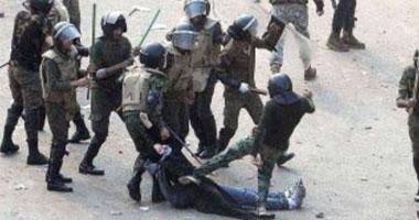 ننشر أول فيديو للمتظاهرة التى سحلها الجيش بقصر العينى