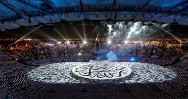 بالصور والفيديو // افتتاح دورة الالعاب العربيه 2011قطر 11220119231052