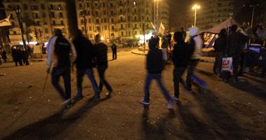 الأمن يخلى ميدان التحرير الإخوان