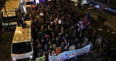 مظاهرات جبهة الإنقاذ احتجاجاً على الاستفتاء