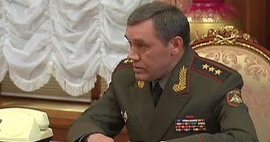 رئيسا الأركان الروسى والتركى يبحثان وقف إطلاق النار فى إدلب