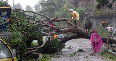 حصيلة إعصار الفيليبين تتجاوز 700 قتيل