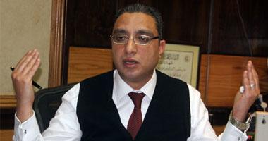 الدكتور أحمد الأنصارى رئيس هيئة الإسعاف المصرية