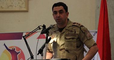 المتحدث العسكرى: القبض على تكفيرى شديد الخطورة وتدمير 23 عشة بسيناء 112201323181412