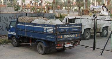 ضبط 85 قضية تهريب عبر محور قناة السويس خلال شهر -