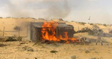 القوات المسلحة تعرض فيديو للعمليات العسكرية فى شمال سيناء