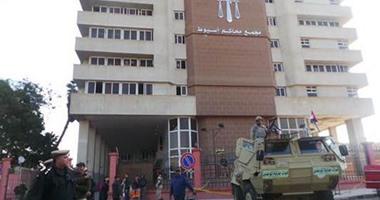 حجز الحكم على 163 متهما فى أحداث الدابودية والهلايل لجلسة 11 مايو المقبل