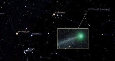 العلوم الفلكية: المذنب Lovejoy يلمع فى سماء القاهرة 30 يناير